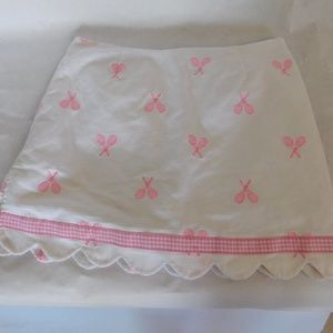RARE LILLY PULITZER TENNIS SKIRT WITH SHORTS